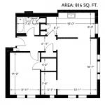 Roy Vue 816 sq. ft.
