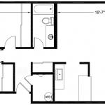 Bergen 945 sq. ft.