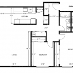 Corner House 1084 sq. ft.