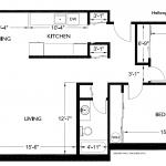Corner House 927 sq. ft.