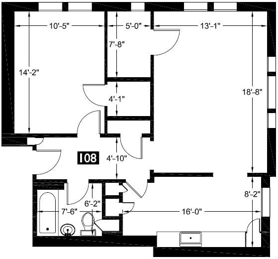 108 floor plan