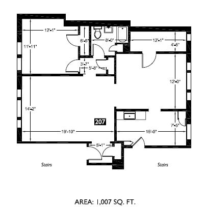 207 floor plan