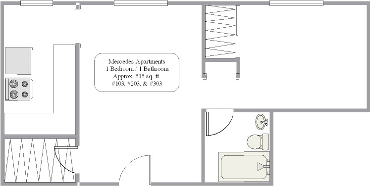 103, 203 and 303 floor plan