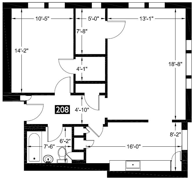 208 floor plan