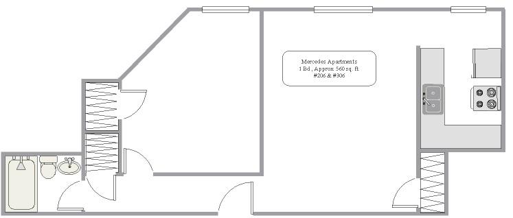 206,306 Floorplan