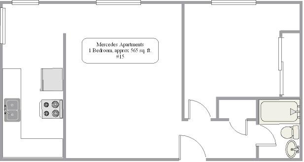 #15 floor plan